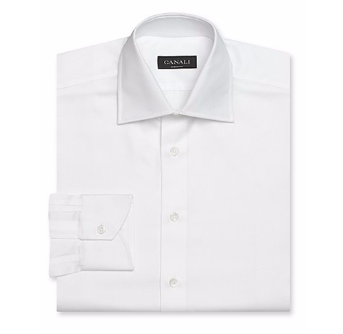 Solid Dress Shirt - Regular Fit by Canali in The Age of Adaline