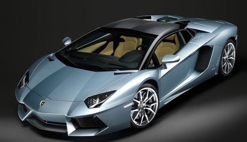 Aventador LP 700-4 Roadster Car by Lamborghini in Popstar: Never Stop Never Stopping
