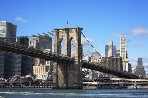 Brooklyn Bridge New York City, New York in John Wick: Chapter 2