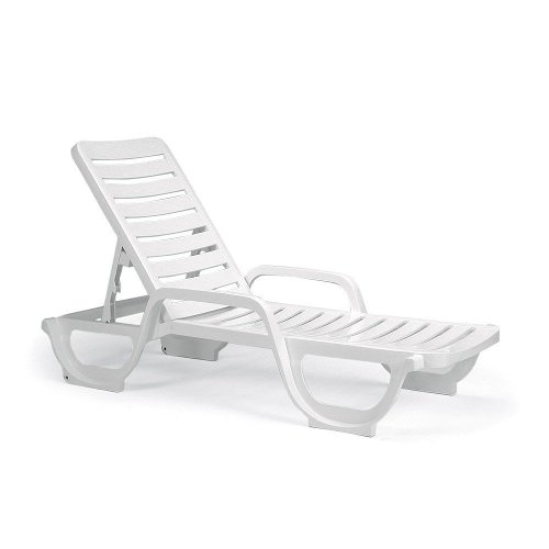 Chaise Lounge Chair by Grosfillex Inc in The Counselor