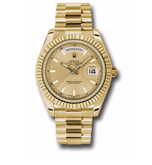 Oyster Perpetual Day-Date II Watches by Rolex in Keeping Up With The Kardashians - Season 12 Episode 13