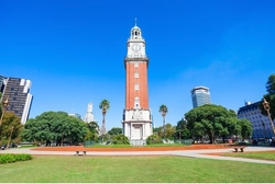 Buenos Aires, Argentina by Torre Monumental in The Bachelorette