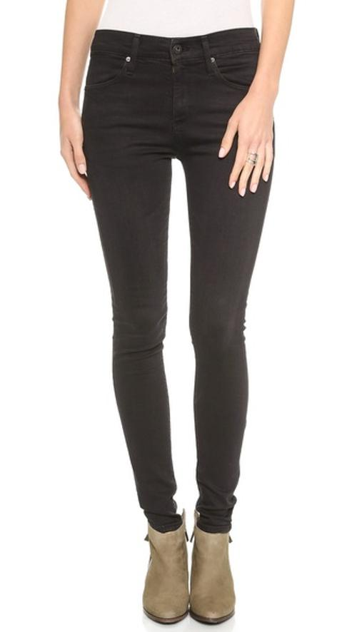 The Farrah High Rise Skinny Jeans by AG Adriano Goldschmied in The Purge: Anarchy