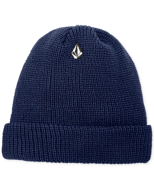 Full Stone Cuff Beanie by Volcom Hats in The Visit