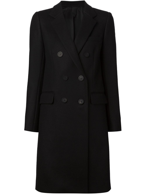 Double Breasted Overcoat by Vera Wang in Keeping Up With The Kardashians - Season 11 Episode 4