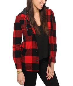 Glamour Kills Henderson Plaid Jacket by Zumiez in American Ultra