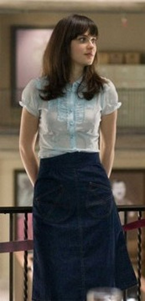 Denim Skirt by Built by Wendy in (500) Days of Summer