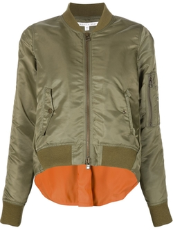 Box Pleated Back Bomber Jacket by Veronica Beard in Keeping Up With The Kardashians