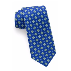 Lansbury Floral Silk Tie by Ted Baker London in The Commuter