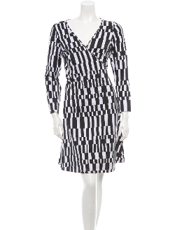 Printed Dress by Diane Von Furstenberg in Masterminds
