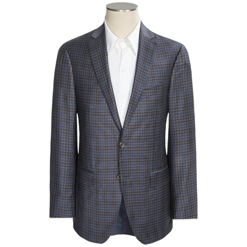 Conway Check Sport Coat by Jack Victor in Southpaw