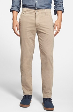 Tailored Straight Leg Chinos by AG in Ballers