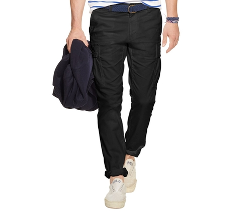 Slim-Fit Military Cargo Pants by Polo Ralph Lauren in The Gunman