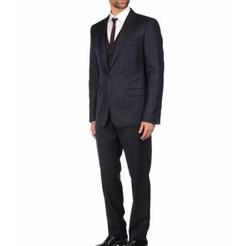 Pinstripe Three Piece Suit by Dolce & Gabbana in The Blacklist