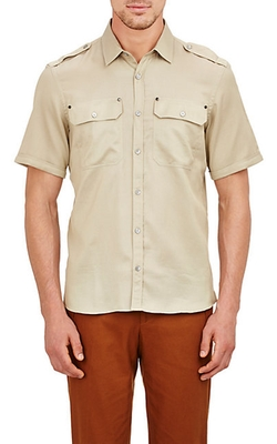 Textured Darton Shirt by Belstaff in Ballers