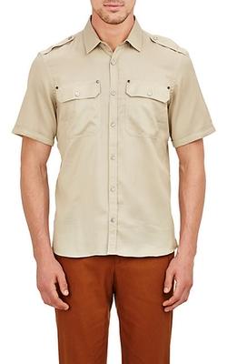 Textured Darton Shirt by Belstaff in Ballers