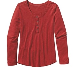 Necessity Henley Top by Patagonia in New Girl