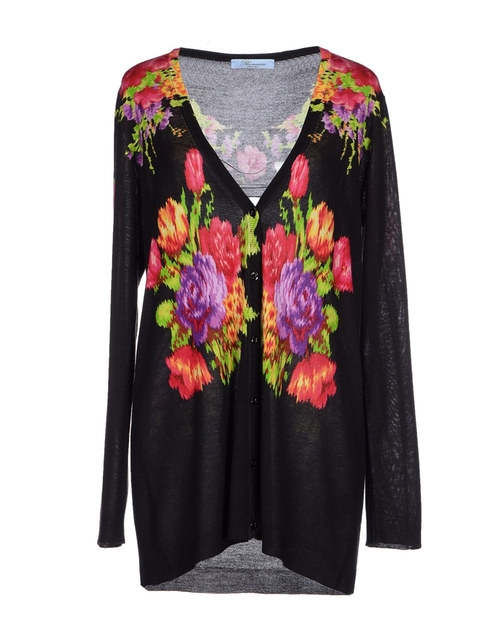 Floral Cardigan by Blumarine in American Horror Story - Season 5 Episode 6