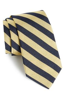 Stripe Silk Tie by Gitman in The Judge