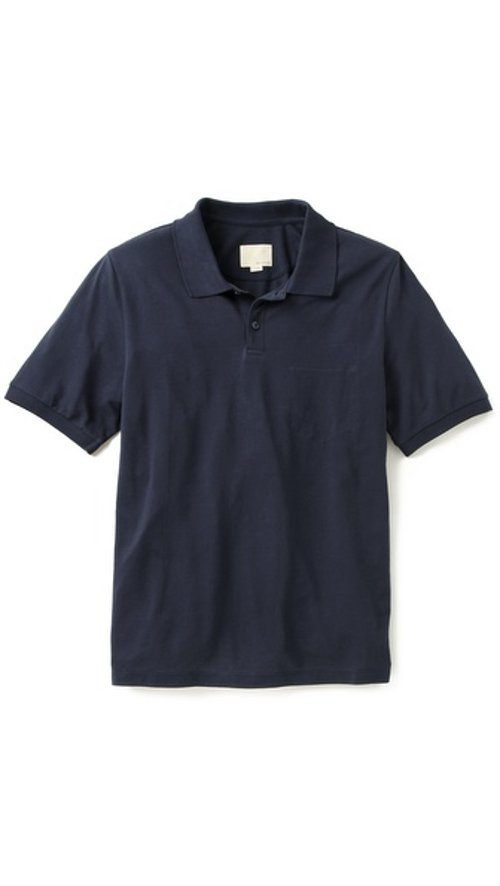 Trap Pocket Polo Shirt by Band of Outsiders in Need for Speed