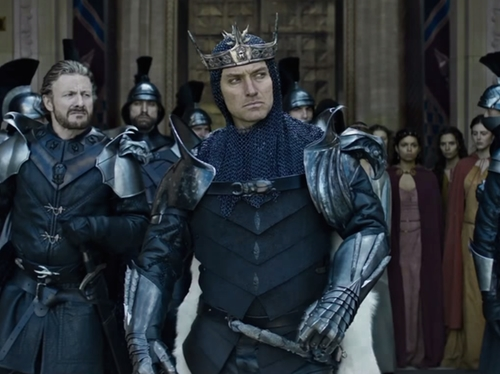 Custom Made Vortigern Chainmail Costume by Annie Symons (Costume Designer) in King Arthur: Legend of the Sword