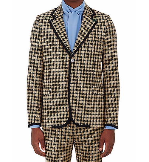 Houndstooth Two-Button Sportcoat by Gucci in Empire - Season 3 Episode 1