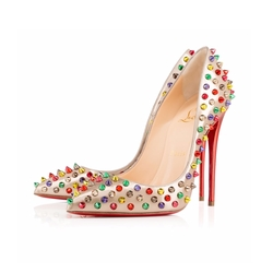 Follies Spikes Pumper Dame Pumps by Christian Louboutin in Pretty Little Liars