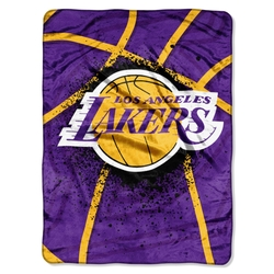 NBA Los Angeles Lakers Throw Blanket by Northwest in Daddy's Home