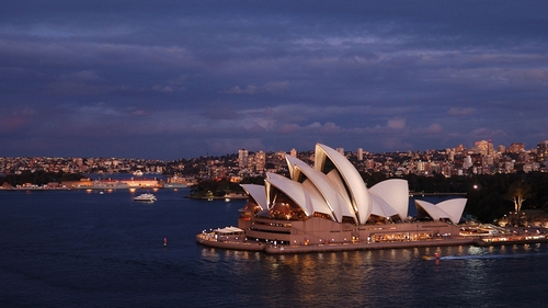 Sydney Opera House Sydney, New South Wales in Keeping Up With The Kardashians - Season 11 Episode 13 - Unforeseen Future