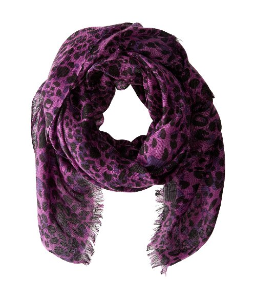 Leopard Spots Scarf by Calvin Klein in That Awkward Moment