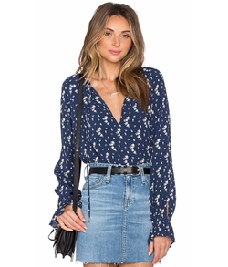 The Boho Blouse by L'Academie in Office Christmas Party