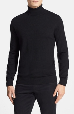 Merino Wool Turtleneck Sweater by Vince Camuto  in A Most Violent Year