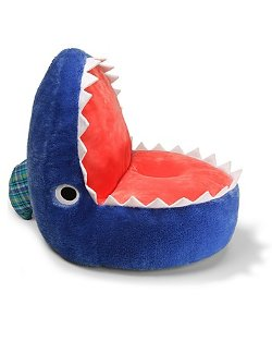 Chomper Shark Chair by Gund in That Awkward Moment