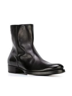 Side Zip Ankle Boots by Buttero in Scandal