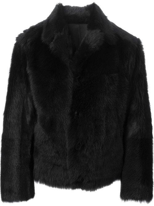 Reversible Fur Coat by Jil Sander in Sherlock Holmes: A Game of Shadows