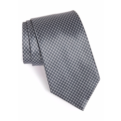 Geometric Silk Tie by Ermenegildo Zegna in Suits