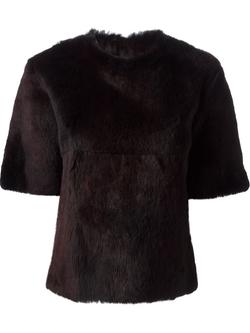 Fur Top by Yang Li in Suits