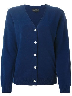 Chantal V-Neck Cardigan by A.P.C. in The Gift