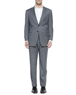 Striped Two-Piece Suit by Armani Collezioni in Unbroken