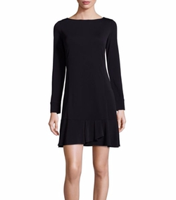 Foster Ruffle Hem Dress by Tory Burch in Suits