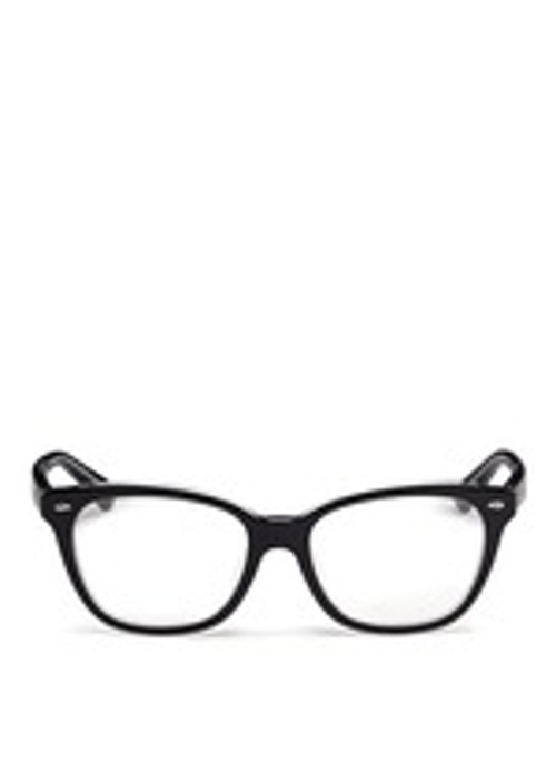 Two Tone Square Cat Eye Optical Glasses by Ray-Ban in Poltergeist