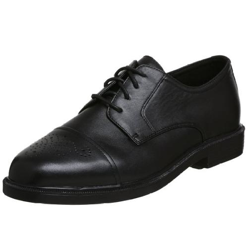 Men's Wall St. Walker Dress Shoe by Propet in The Purge: Anarchy