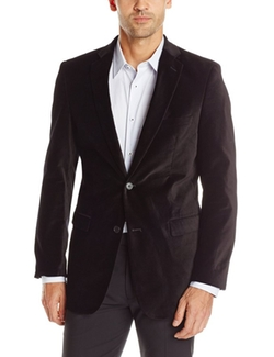 Men's Solid Velvet Blazer by U.S. Polo Assn. in Silicon Valley