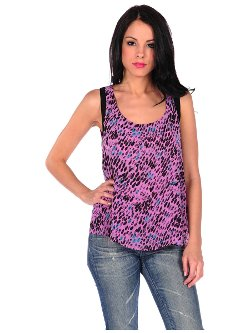 Criss Cross Back Tank Top by Designs by Stephene in Entourage