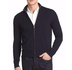 Front Zip Cardigan by Victorinox Swiss Army in Billions