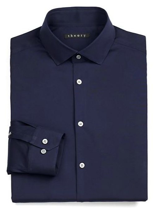 Dover Luxe Dress Shirt by Theory in Need for Speed