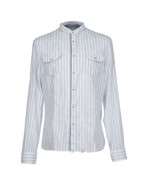Striped Mandarin Shirt by Gaudi' in The Best of Me