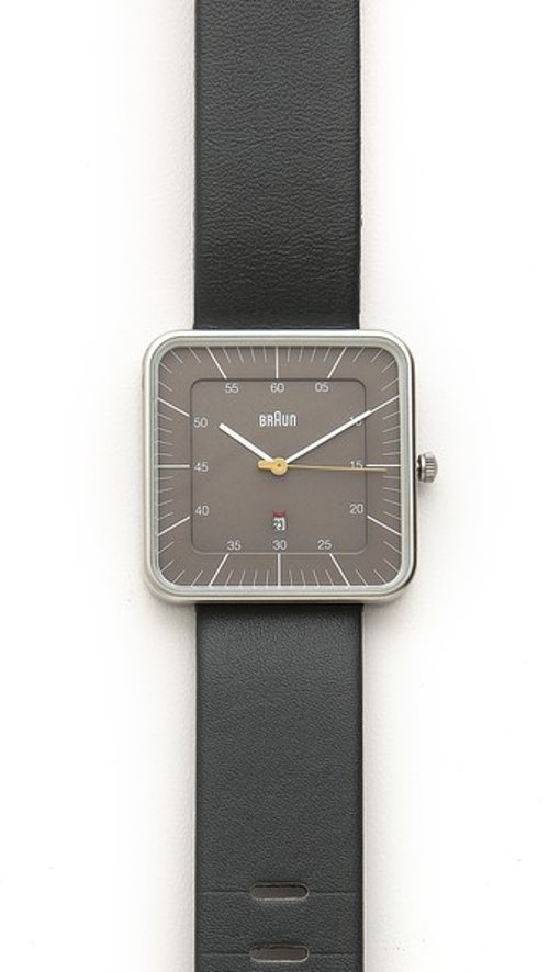 Classic Square Watch by Braun in (500) Days of Summer