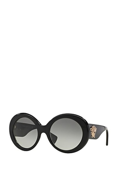 Black #PopMedusa Sunglasses by Versace in Empire
