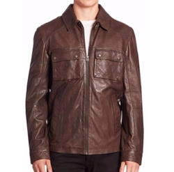 Leather Zip-Up Jacket by Cole Haan in xXx: Return of Xander Cage